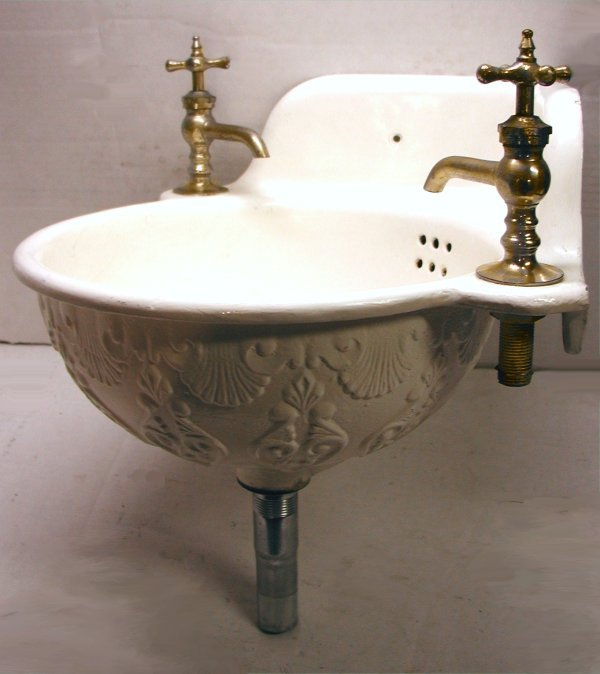 Antique Corner Basin